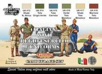 Italian WW II Uniform colors (6 colors)