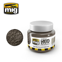 Acrylic Mud Dark Mud Ground 250ml