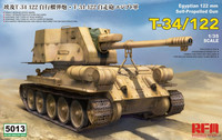 T-34/122 Egyptian Self Propelled Gun 1/35