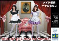 Maid Cafe Girls, Nana and Mokomo 1/35
