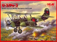 U-2/Po-2 Soviet Multi-Purpose Aircraft 1/72