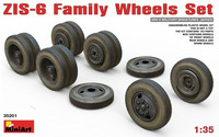 ZIS-5 Family Wheels Set 1/35