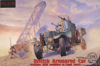 British Armoured Car (Pattern 1920 modified w/sand tyres) 1/35