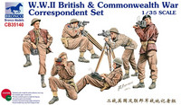 British & Commonwealth War Correspondent Set 1/35