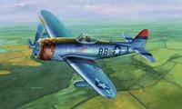 "P-47D-30 THUNDERBOLT FIGHTER - ""DORSAL FIN"" 1/32"