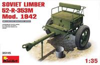 Soviet limber 52-R-353M Mod 1942 1/35