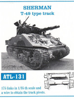 SHERMAN T-49 type track 1/35