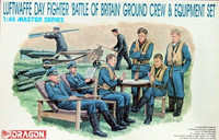 Luftwaffe Day Fighter Ground Crew & Equipment Set 1/48