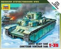 T-35 Soviet Heavy Tank 1/100