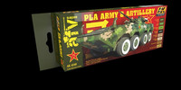 PLA (People's Liberation Army) Army and Artillery Set