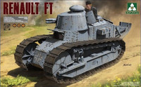 Renault FT-17 French Light Tank (3 in 1) 1/16