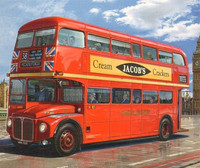 London Routemaster Bus 1/24