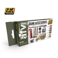 Tank Accesories Paint Set ( 6 maalia)