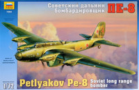 PE-8 Soviet Heavy Long Range Bomber 1/72