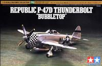 Republic P-47D Thunderbolt Bubbletop 1/72
