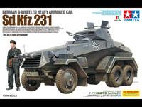 SdKfz 231 German 6-Wheeled Armored Car 1/35
