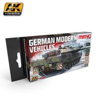 German Modern Vehicles Paint Set