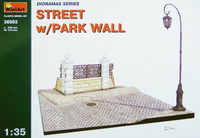 Street with Park Wall 1/35