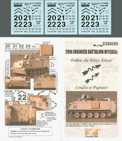 20th Engineer Battalion M113A3s in OIF 1/35