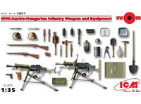 Austro-Hungarian Infantry Weapon and Equipment 1/35