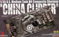 "U.S. Medium Tank M4 Sherman Composite ""Chia Clipper"" 1/35"
