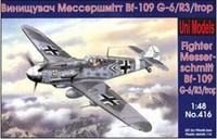 Fighter Messerschmidt Bf-109 G-6/R3/trop 1/48