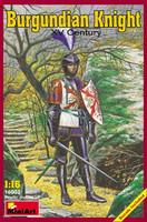 Burgundian Knight XV Century 1/16