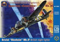 Bristol Blenheim Mk.1F British Night Fighter 1/72