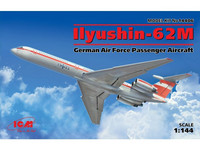 Ilyushin-62M German Airforce Passanger Aircraft 1/144