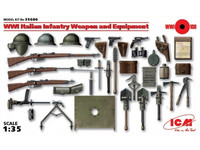 WWI Italian Infantry Weapons and Equipment 1/35
