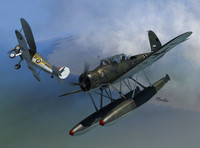 Arado Ar196A-2 Versus Gloster Sea Gladiator 1/72