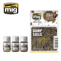 Damp Soils (Mud & Earth Sets)