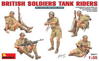 British Soldiers Tank Raiders 1/35