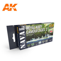 Royal Navy Camouflages Vol.2 (kuusi maalia)