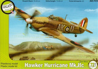 "Hawker Hurricane Mk.IIc ""Over Africa"" 1/72"