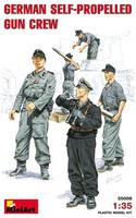 German Self-Propelled Gun Crew 1/35