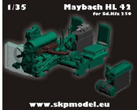 Engine for SdKfz 250 (Dragon Kit)
