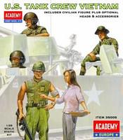 US TANK CREW VIETNAM 1/35