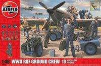 WWII RAF Ground Crew (10 Multi Part Figures) 1/48