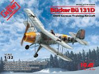 Bücker Bü 131D WWII German Training Aircraft 1/32