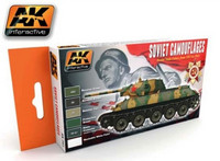 Camouflage Paint Set for Soviet WWII AFV (6 Colors)