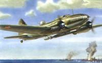 Iljushin IL-4 Soviet torpedo bomber 1/72
