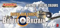 "Aircraft Lifelike Colours \""RAF Battle of Britain\"""