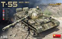 T-55 Model 1963 Interior kit (Suomi tunnukset) 1/35