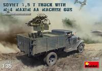 Soviet 1.5t Truck & M-4 Maxim Machine Gun 1/35