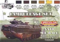 NATO M.E.R.D.C Color set (6 colors)