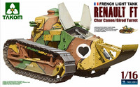 Renault FT-17 Char Canon, Cirod Turret 1/16