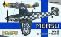 Mersu Bf109 G in Finland Dual Combo 1/48