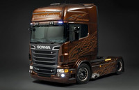 "Scania R Topline "" Black Amber"" 1/24"