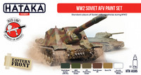 Soviet WW2 AFV Paint Set